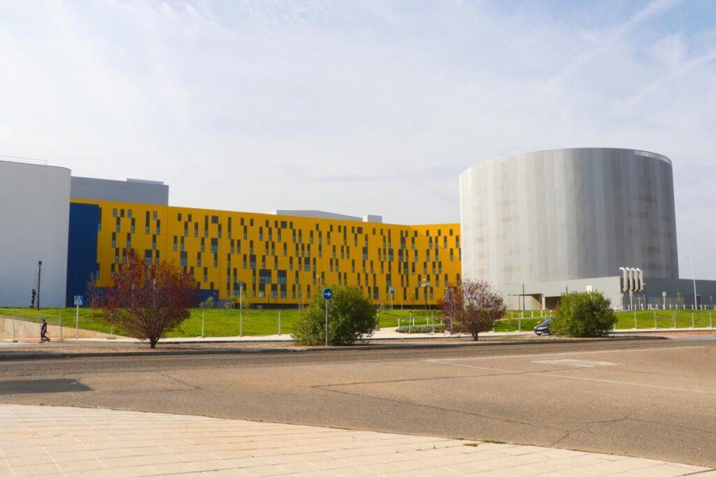 Hospital de toledo, obra de CMC